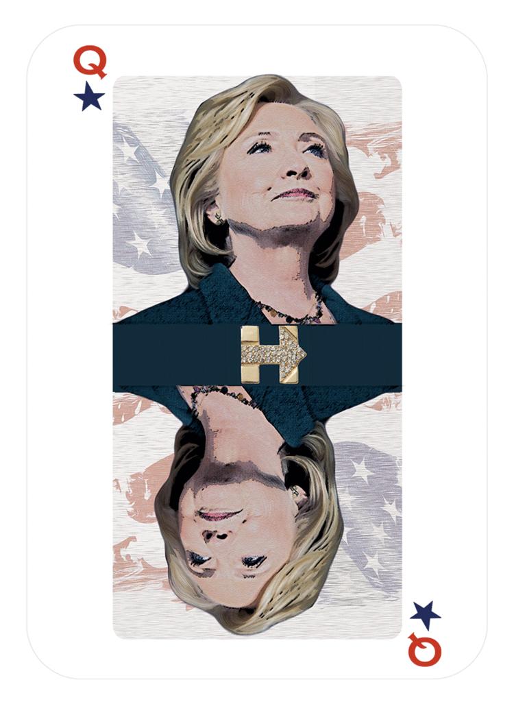Hillary por Stefi Goldstein